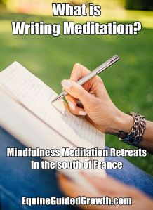 writing meditation