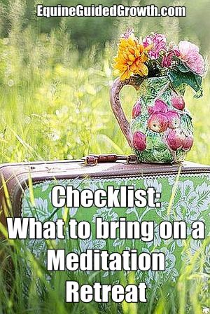 What to bring on a Meditation Retreat