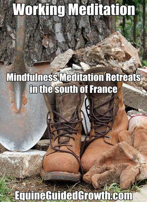 Working Meditation pin