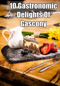 10 gastronomic delights of Gascony pin