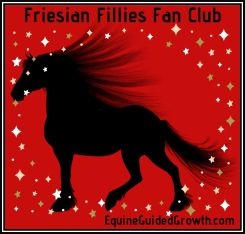 Friesian Filly Fan Club Badge
